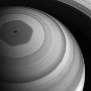 Saturn Bathed in Sunlight