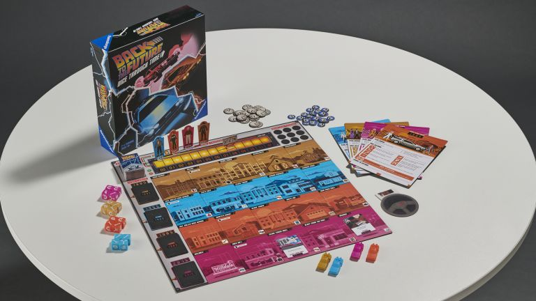 Back to the Future Dice Through Time board game review