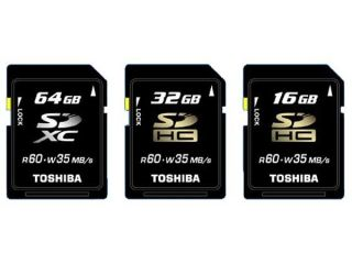 Toshiba - putting the X into SD cards