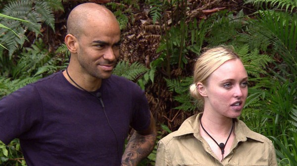 Kieron Dyer and Jorgie Porter on I'm A Celebrity