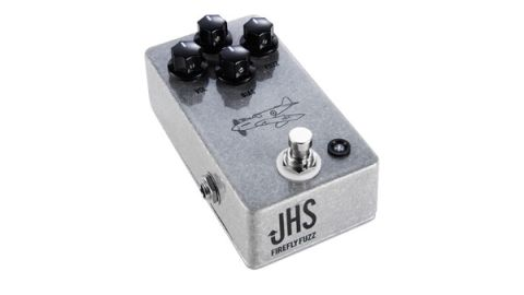 JHS has added a Bias knob to a Tone Bender-style design to fine-tune the power to the transistors