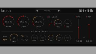 Tritik's Krush is a new free bit crushing plugin for Mac and
