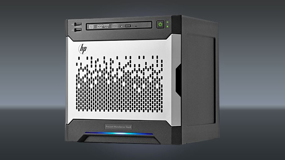 hp proliant microserver gen8 review techradar. Black Bedroom Furniture Sets. Home Design Ideas