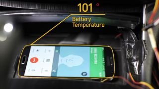 Chevy car tech active phone cooling