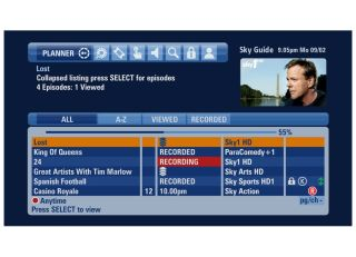 Sky's new-look EPG