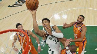 Milwaukee Bucks vs Phoenix Suns in the NBA Final 2021