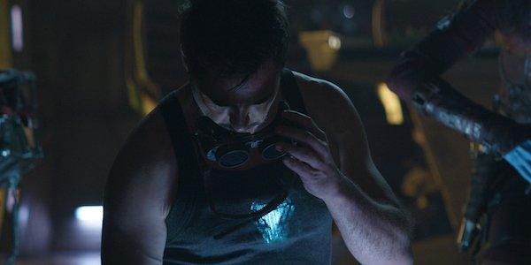 Avengers Endgame Tony Stark working on the Benatar