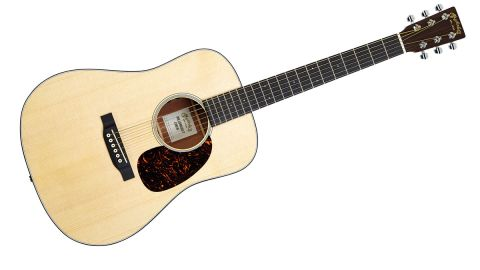 Classed as a 15/16ths down-sized dreadnought, the smaller dimensions actually make for a much more comfortable guitar