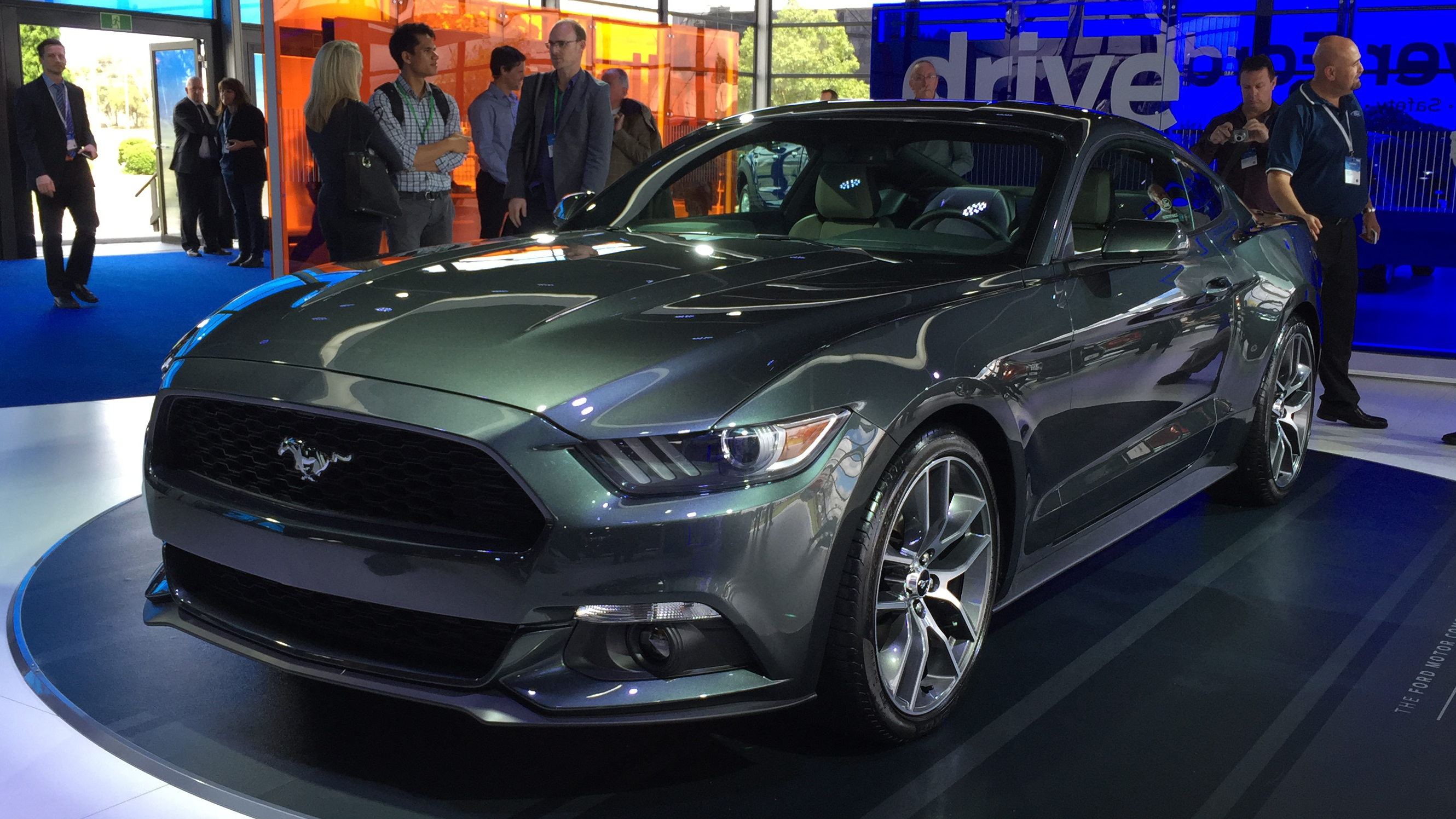 Aussie ford mustang to match us counterparts power