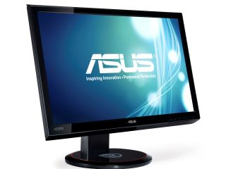 Asus' 3D monitor - shown in 2D