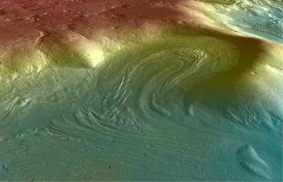 Strange Scars on Mars Suggest Recent Glaciers