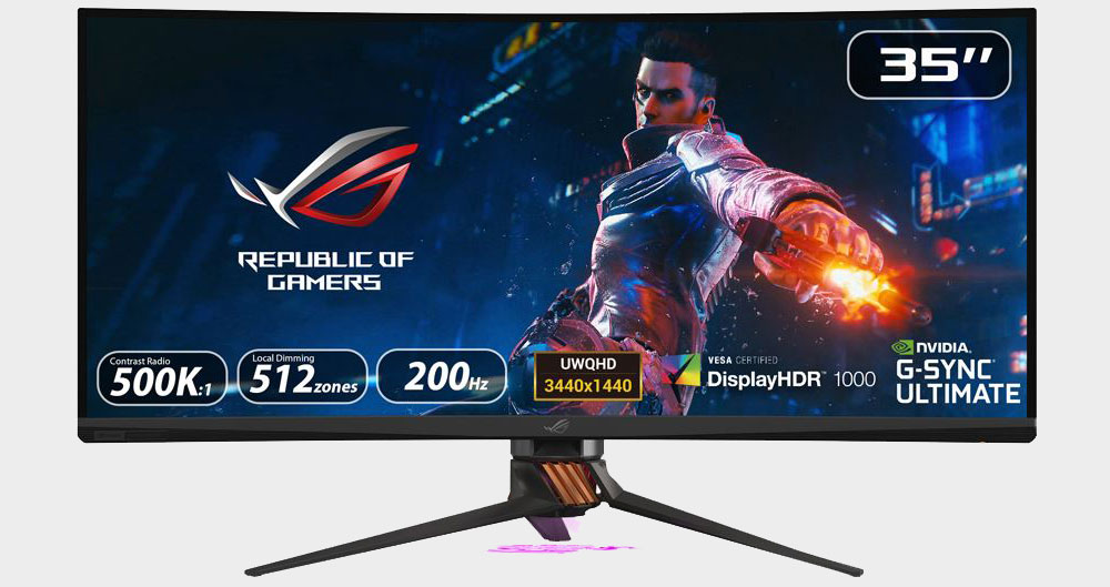 Asus ROG's big, bright, and fast PG35VQ gaming monitor arrives in the US for $2,499 | PC Gamer