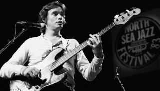 Jaco Pastorius performs on stage at The North Sea Jazz Festival on July 10 1983 in Amsterdam, Netherlands