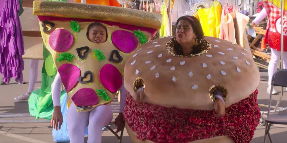 On My Block Netflix Season 3 hamburger screenshot