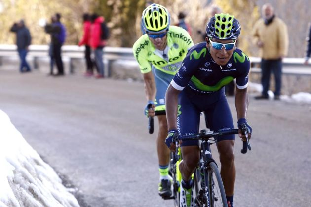 Nairo Quintana on stage four of the 2016 Volta a Catalunya