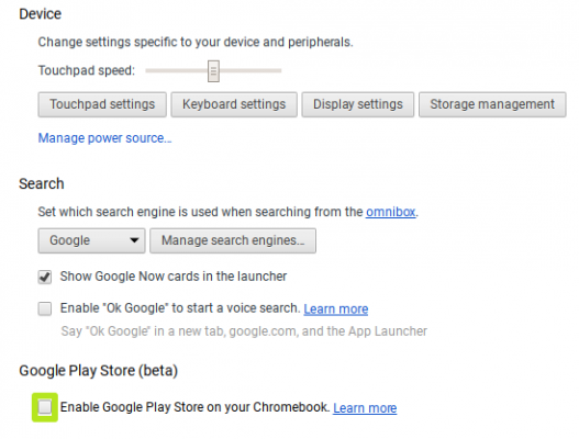 Install Google Play Store On Chromebook