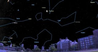 Skywatchers can find Uranus and the Moon sharing the sky today (Aug. 21).