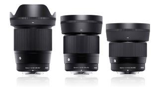 Sigma Canon EF-M lenses