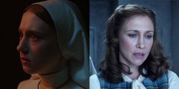 Taissa Farmiga The Nun Sister Irene Vera Farmiga The Conjuring Lorraine Warren