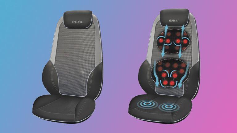 HoMedics ShiatsuMax 2.0 massage chair product shots