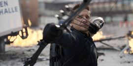 Marvel's Jeremy Renner Is Having The Best Time Training Ahead Of His Disney+ Hawkeye Series