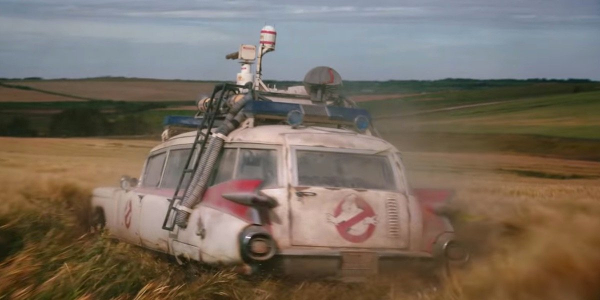 The ectomobile in Ghostbusters