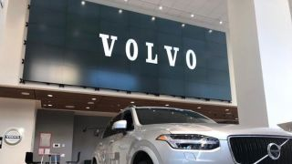 Volvo Manhattan enhanced its flagship NYC showroom with a large, non-standard 5x7 video wall, and turned to the ClearOne VIEW Pro video distribution solution to power it.