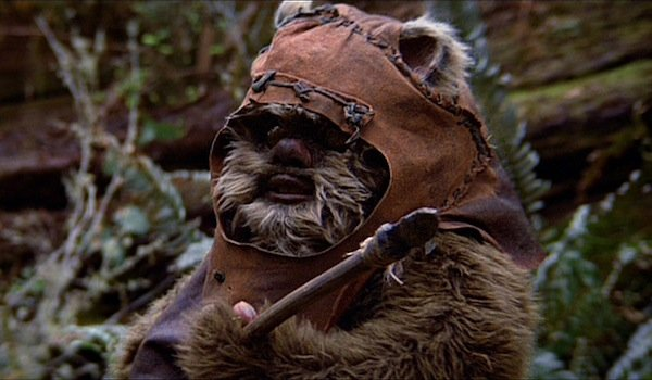 Ewok in Return of the jedi