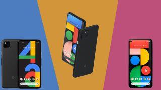 Google Pixel 5 vs Google Pixel 4a 5G vs Google Pixel 4a