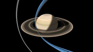 Cassini Makes First Ring-Grazing Plunge
