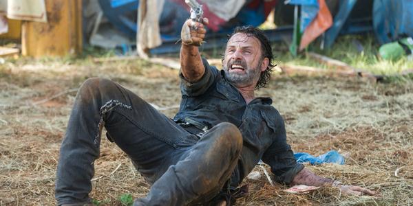 amc the walking dead rick andrew lincoln say yes