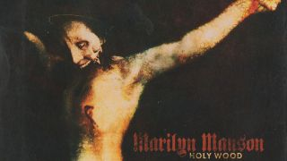 The cover of Marilyn Manson's Holy Wood album