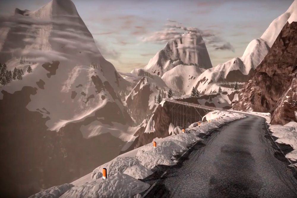 zwift mountain