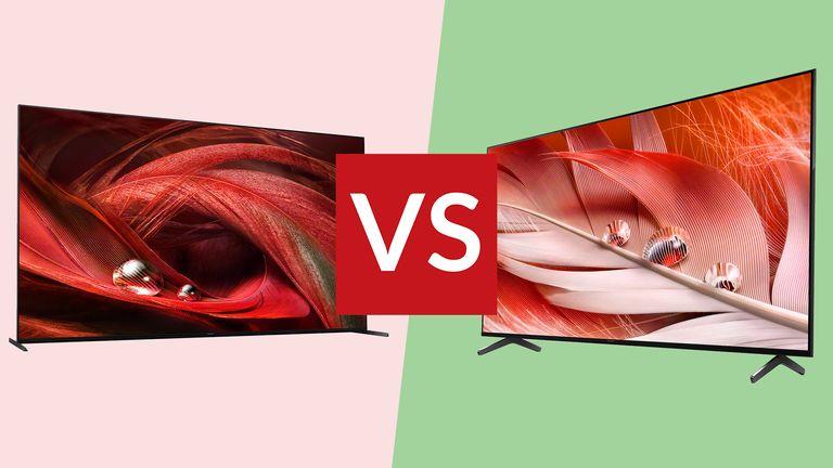 Sony X95J vs Sony X90J
