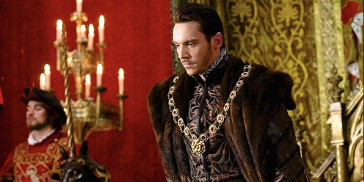 King Henry in The Tudors.