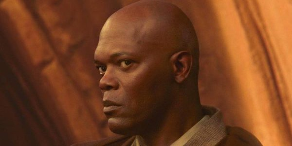 Mace Windu in Attack of the Clones