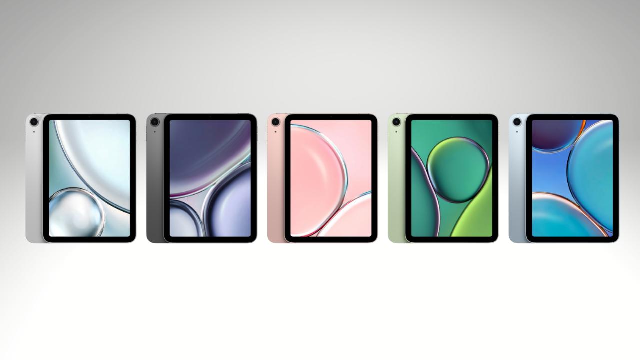 iPad mini 6 renders