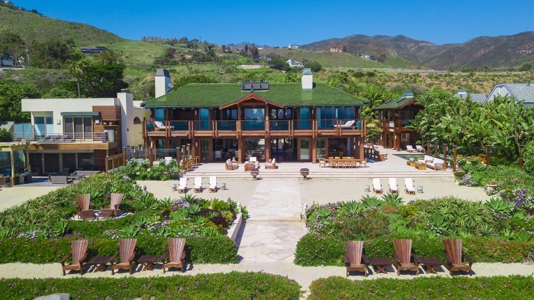 Pierce Brosnan's Malibu home