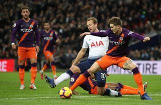 Tottenham Hotspur v Manchester City – Premier League – Wembley Stadium