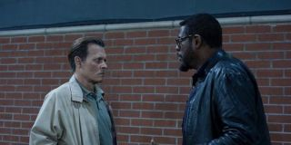 Johnny depp and forest whitiker in City of Lies