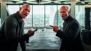 Dwayne Johnson & Jason Statham in Fast & Furious: Hobbs & Shaw