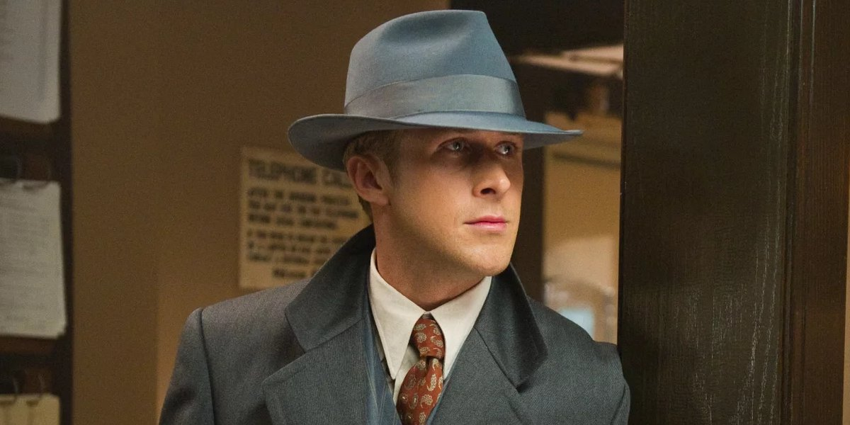 The Actor star Ryan Gosling in Gangster Squad