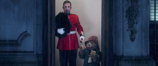 Paddington meets a Queen's Guard