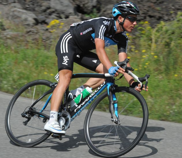 Peter Kennaugh, Giro d'Italia 2011, stage nine