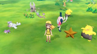transfer Pokemon from Pokemon Go to Let's Go