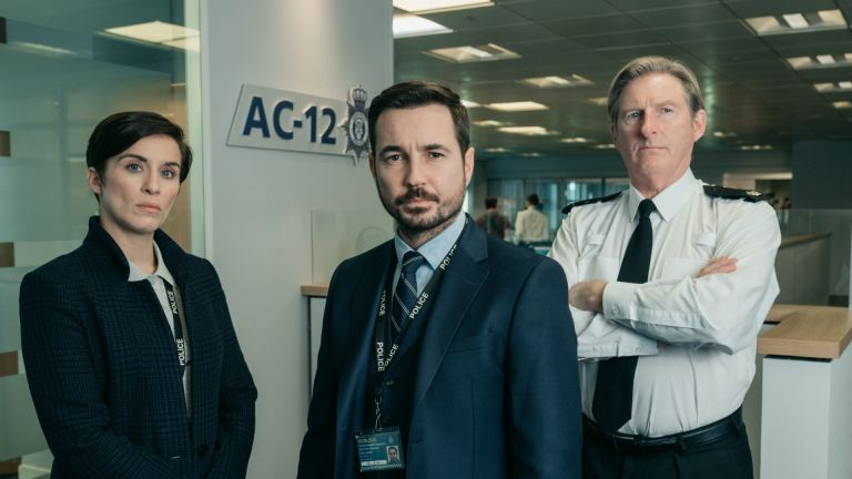 Three main characters from BBC's Line of Duty