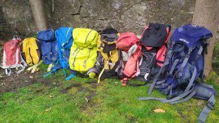 8 backpacks