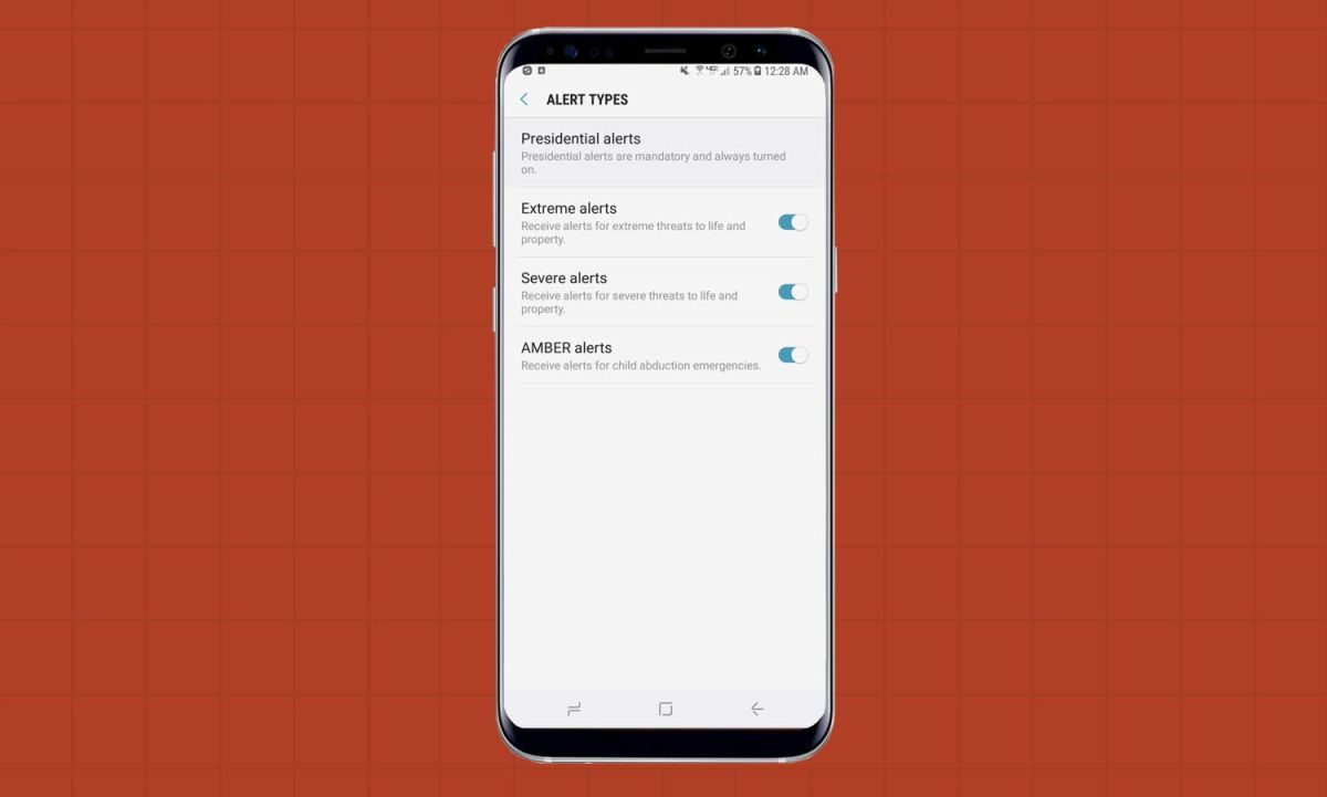 How to Turn Off Emergency Alerts on the Galaxy S8 - Samsung