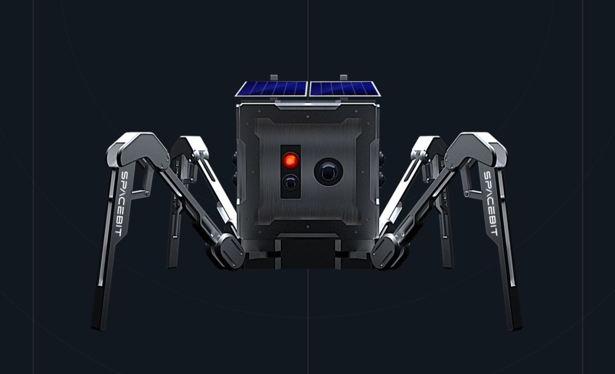 We are sending spider robots to the moon in 2021 that will eventually map lava tubes to build lunar bases using LIDAR