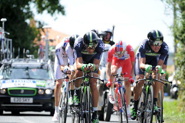 Sky, Tour de France 2011 stage two TTT